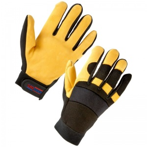Supertouch 2434 Leather Mechanic Work Gloves