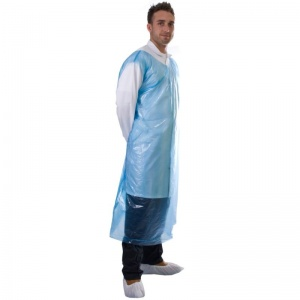 Supertouch Disposable PE Smock (Pack of 50)