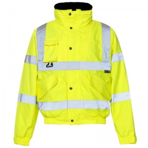 Supertouch Hi-Vis Breathable 2-in-1 Bomber Jacket