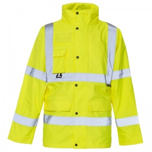 Supertouch Hi-Vis Breathable Jacket (Pack of 10)