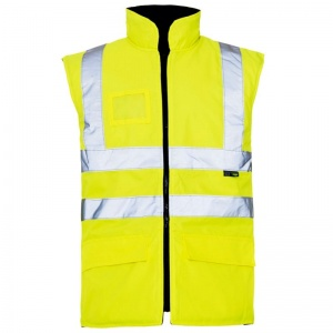 Supertouch Hi-Vis Interactive Bodywarmer (Pack of 10)