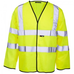 Supertouch Hi-Vis Long Sleeved Vest (Case of 50)