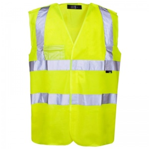 Supertouch Hi-Vis Pull Apart Vest (Pack of 50)