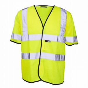 Supertouch Hi-Vis Short Sleeved Vest (Pack of 50)