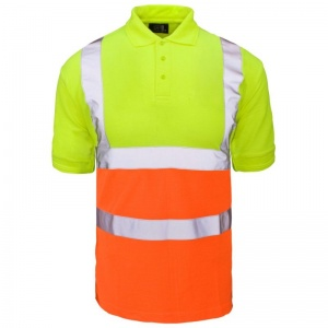 Supertouch Hi-Vis Two-Tone Polo Shirt (Case of 20)