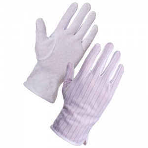 Supertouch PVC Dot Anti-Static Gloves 23602