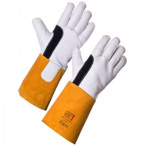Supertouch Super TIG Welder Leather Gauntlet Gloves 20763