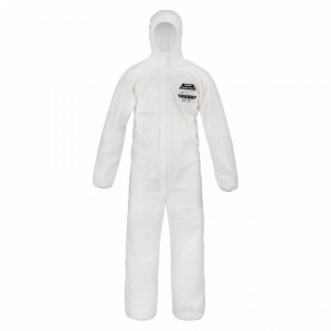 Supertouch Pryolon Plus 2 Flame Retardant Coveralls with Hood