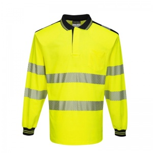 Portwest PW3 Hi-Vis Polo Shirt T184 (Case of 48)