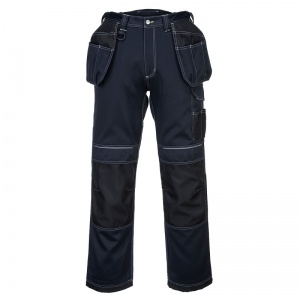 Portwest T602 PW3 Navy/Black Holster Work Trousers