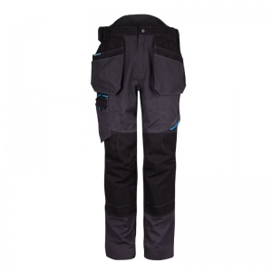 Portwest T702 WX3 Metal Grey Holster Trousers
