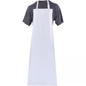 Delta Plus TABALPV White Apron with Adjustment Buckle