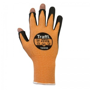 TraffiGlove TG3220 Cut Level B Exposed Fingertips Gloves