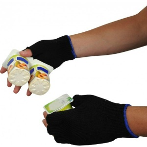 UCi Fingerless Thermal Acrylic Outdoor Gloves PBK7FL