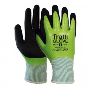 TraffiGlove TG5060 Hydric Cut Level 5 Water-Resistant Gloves