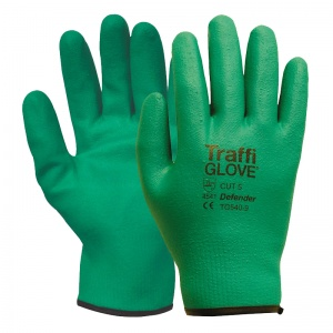 TraffiGlove TG540 Defender So Flex Water-Resistant Cut Level 5 Gloves
