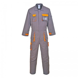 Portwest TX15 Grey Texo Contrast Coveralls