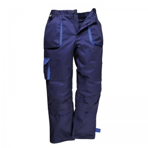 Portwest TX16 Texo Navy Contrast Lined Trousers