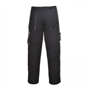 Portwest TX16 Texo Black Contrast Lined Trousers