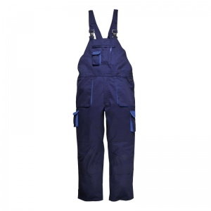 Portwest TX17 Texo Contrast Navy Bib and Brace