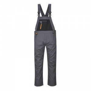 Portwest TX62 Grey Rhine Bib and Brace