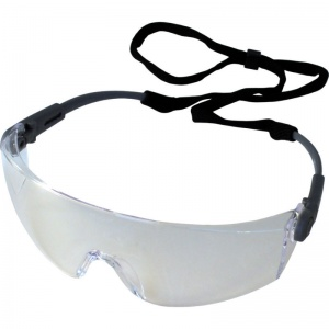 UCi Solomon Clear Safety Glasses with Neck Cord I707