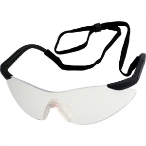 UCi Arafura Clear Adjustable Safety Glasses with Neck Cord I704