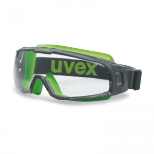Uvex Clear U-Sonic Wide-Vision Goggles 9308-245