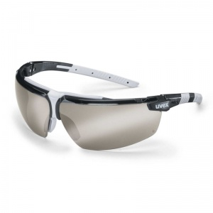 Uvex i-3 Silver Mirror Anti-Glare Safety Glasses 9190-885