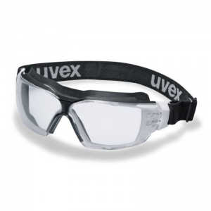 Uvex Pheos CX2 Sonic Clear Safety Goggles 9309275