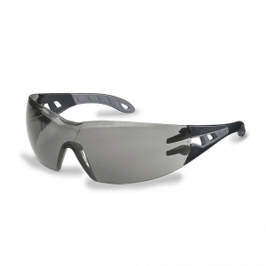 Uvex Pheos Grey Anti-Glare Safety Glasses 9192-285