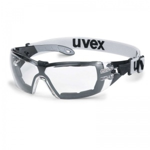 Uvex Pheos Guard Clear Safety Glasses 9192-180