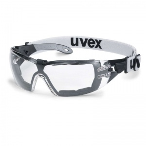 Uvex Pheos Guard S Clear Safety Glasses 9192-680