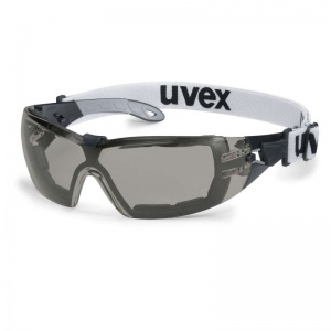 Uvex Pheos Guard S Grey Anti-Glare Safety Glasses 9192-681