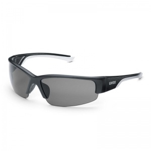 Uvex Polavision Black UV Safety Glasses 9231-960