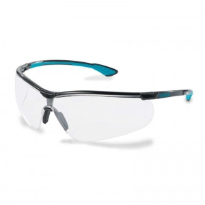 Uvex Sportstyle Clear UV Safety Glasses 9193-376