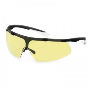 Uvex Super Fit Amber-Tinted Safety Glasses 9178-385