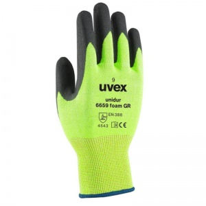 Uvex Unidur 6659 Foam Green Cut Proof Gloves