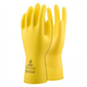 UCi Vega Chemical-Resistant Latex Gauntlet Gloves