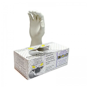 White Mamba Tough Disposable Latex Gloves BX-WMG