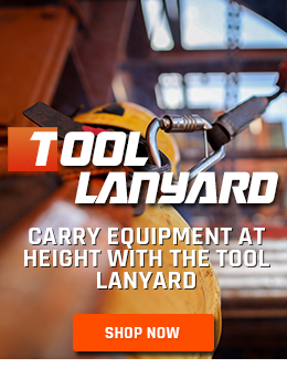 Keep Tools Safe at Height with the Tool Lanyard