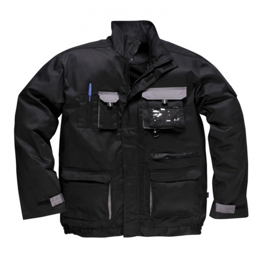 Portwest TX10 Black Texo Contrast Jacket