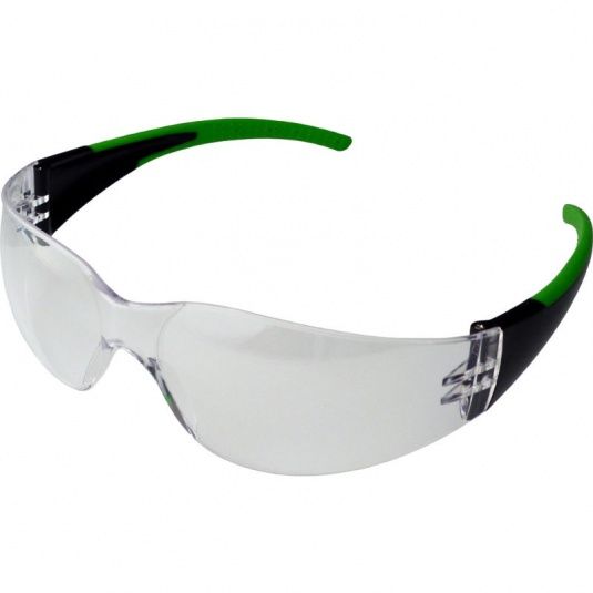 UCi Java Sport Clear Wraparound Safety Glasses I907-1