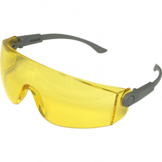 UCi Solomon Yellow Lens Safety Glasses with Neck Cord I707