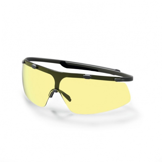 Uvex Super G Amber-Tinted Safety Glasses 9172-220