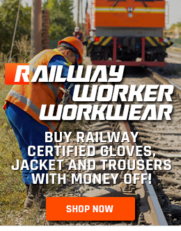Purchase Railway Certified Trousers, Jacket and Gloves with Money Off
