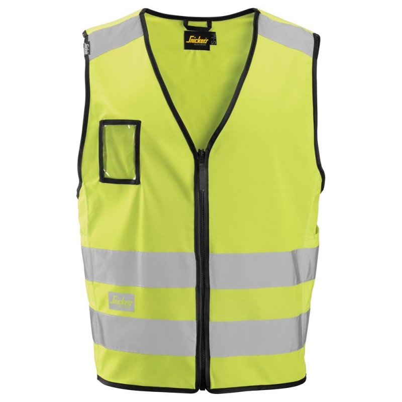 Stay Visible with Snickers Safety Vests