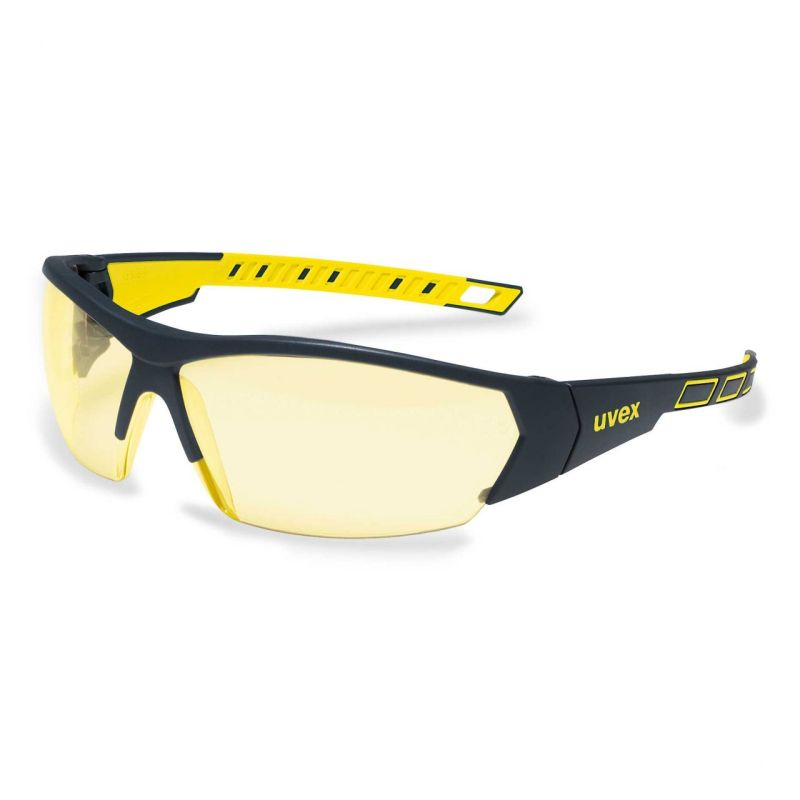 Uvex i-Works Amber Safety Glasses